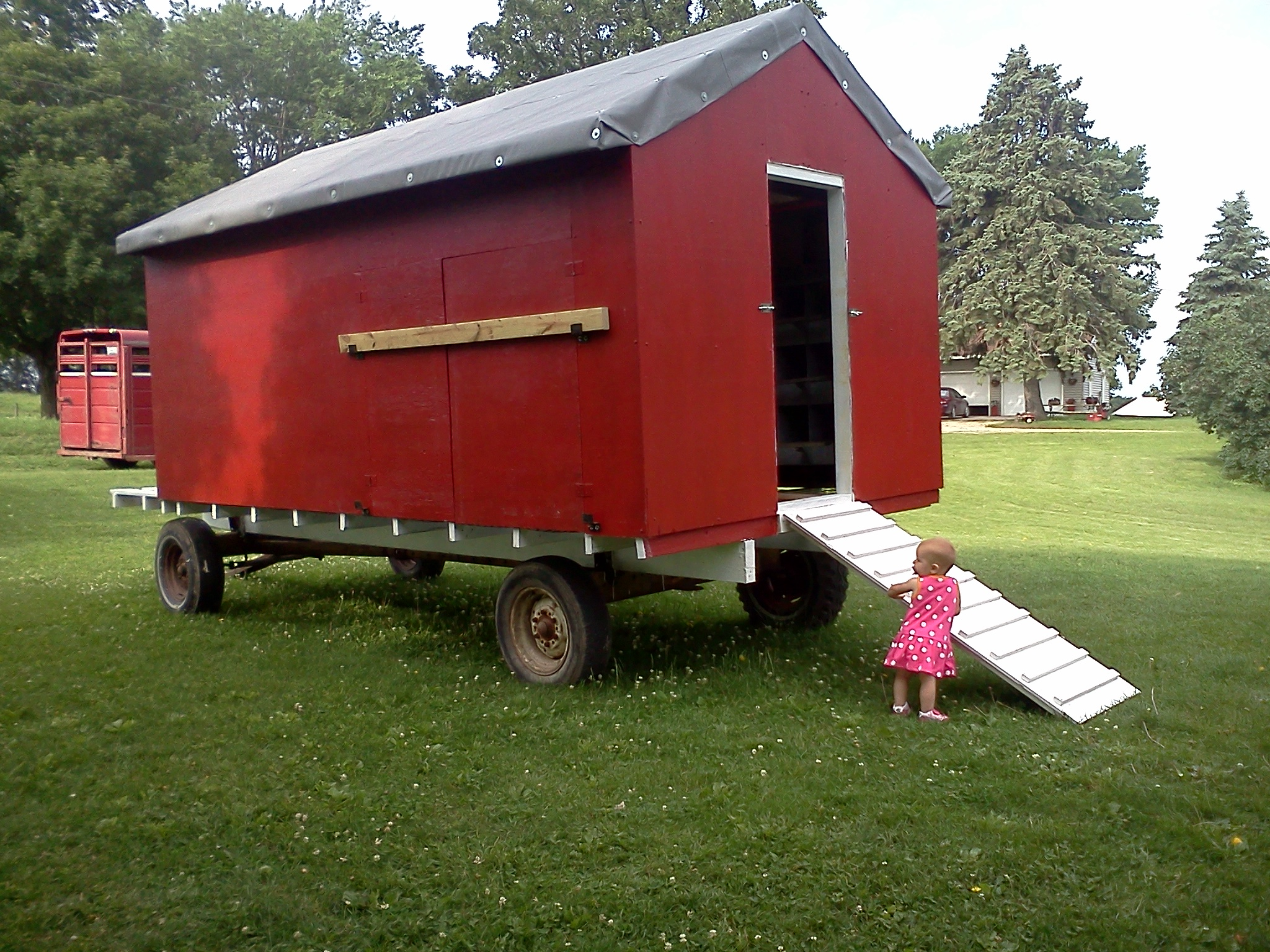 Here is my trailer page 2 for Mobile chicken coops